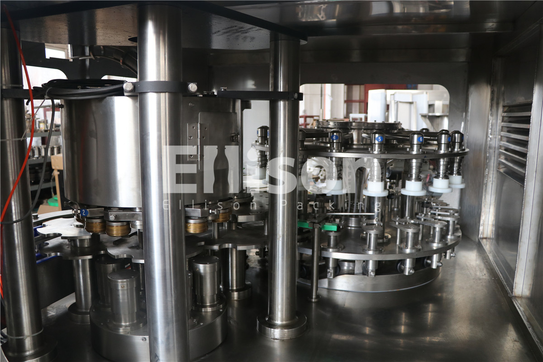 Atmospheric Pressure Pure Water Liquid Bottle Filling Machine